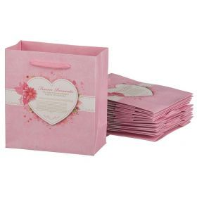 Комплект бумажных пакетов из 10 шт. 14*16*7 см.-521-160