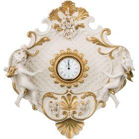 Настенные часы 40*40 см. циферблат диаметр=8 см.