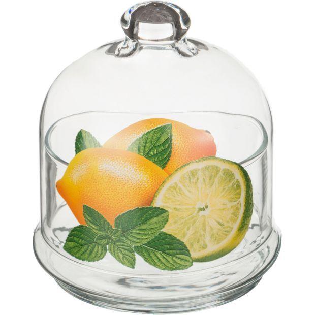 """Икорница """"лимоны"""" 500 мл.-484-479"""