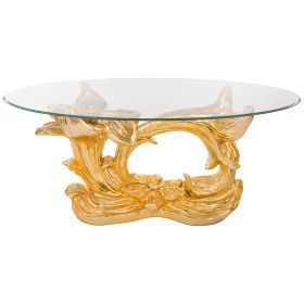 Стол интерьерный + стекло 120*65*50 см.-93-302