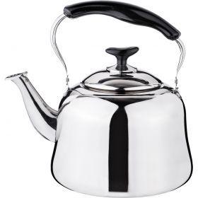 Чайник со встроенным свистком 4 л.-909-604
