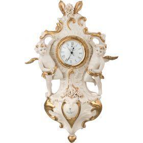 Часы настенные кварцовые ангелы высота=45 см.29*10 см.