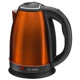 Чайник электрический из нерж.стали hottek ht-970-203 1,8л, 1800 вт бронзовый-970-203