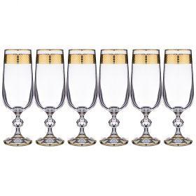 Набор фужеров для шампанского из 6 шт.