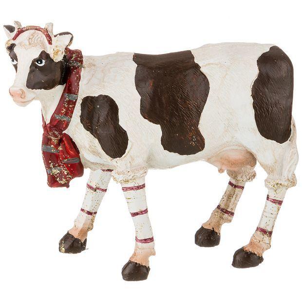 """Фигурка """"корова"""" 11,5*4,5*10 см. (кор=48шт.)-162-840"""