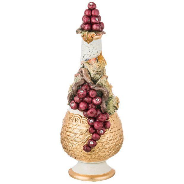 """Бутылка декоративная """"fruits"""" высота 31 см-313-106"""