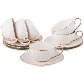 Чайный набор на 6 персон 12 пр.150 мл.-84-821