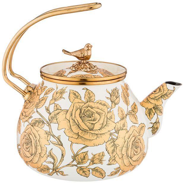 Чайник agness эмалированный, 3,0л-950-162