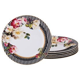 Набор подстановочных тарелок из 6 шт диаметр=22,5 см-87-163