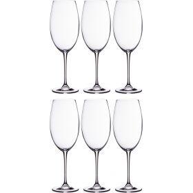 Набор бокалов для вина из 6 шт. «эста» 630 мл. высота=27 см.-669-195