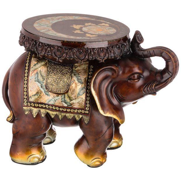 """Фигурка слон """"прибавление денег с каждым днем"""" 60х36 см. высота=46 см (кор=1шт.)-114-422"""