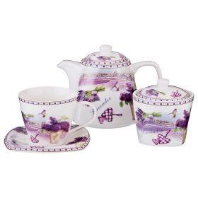 Чайный набор на 6 персон 14пр. 700/220/280 мл-165-439