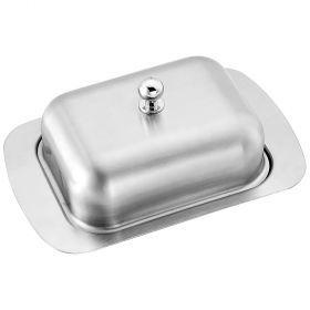 Масленка с металл. крышкой 19*12*7 см.-912-016