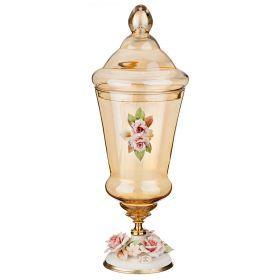 Декоративная чаша высота=50 см.диаметр=17 см.-284-537