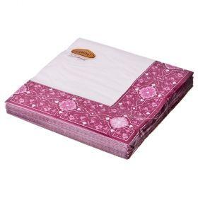 Салфетки бумажные 3-х слойные 33*33 см бордо-423-035-2