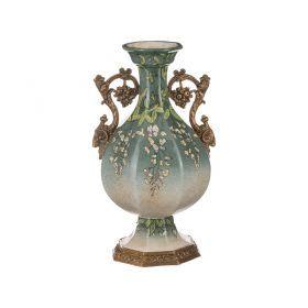 Декоративная ваза диаметр=22 см. высота=40 см.-469-266