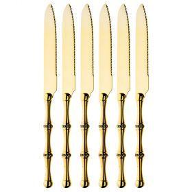 Набор из 6-ти ножей длина=22,5 см (мал=6шт./кор=18наб.)-363-575