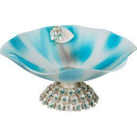 Декоративная чаша диаметр=41 см. высота=19 см.-316-1052