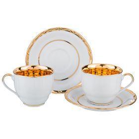 Чайный набор на 2 персоны 4 пр.