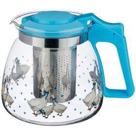Заварочный чайник agness с фильтром