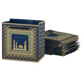 Комплект бумажных пакетов из 10 шт. 15*15*10 см.-521-158