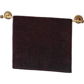 Полотенце махровое ,50х90, коричневое ,100% х\б-703-13133