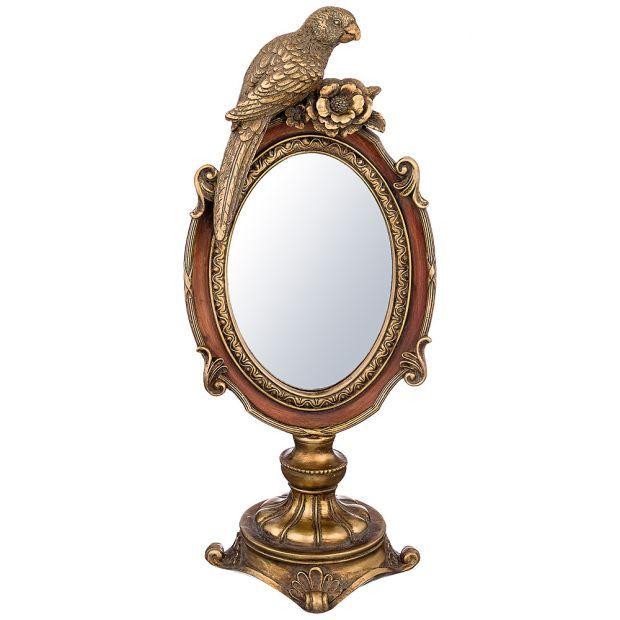 Зеркало настольное 31*12*13 см-504-158