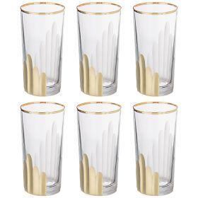 Набор стаканов из 6 шт. 350 мл. высота=14 см.-103-574