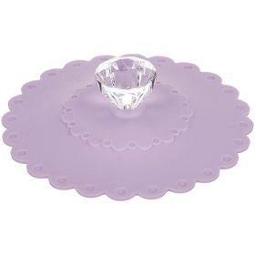 Крышка силиконовая диаметр=11 см. высота=3 см.