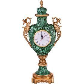 Часы настольные 25*15 см. высота=55 см. диаметр циферблата=10 см.-46-1240