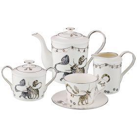 Чайный набор на 6 персон, 15 пр. 1000/400/350/250 мл. (кор=2набор.)-264-933
