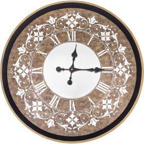 Часы настенные кварцевые 62,5*62,5*5 см. диаметр циферблата=59 см.-108-102