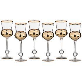 Набор бокалов для вина из 6 шт.250 мл.высота=21 см.-103-498