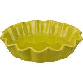 Форма для запекания диаметр=26,5 см.высота 5 см.оливковая