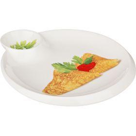 Блюдо для блинов 23*20 см.