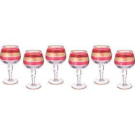 Набор бокалов для коньяка из 6 шт.400 мл.высота=19 см.-103-476
