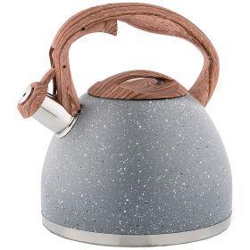 Чайник agness со свистком 2,6 л термоаккумулирующее индукционное дно-948-004