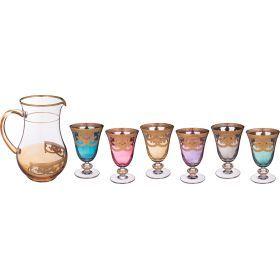 Набор бокалов из 6 шт+кувшин