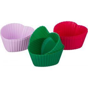 Набор силиконовых форм для выпечки из 6шт.диаметр=6 см.