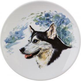Тарелка настенная диаметр 19 см.-662-595