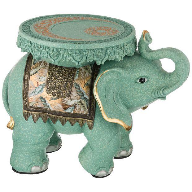 """Фигурка слон """"надежность и стабильность"""" 60х36 см. высота=46 см (кор=1шт.)-114-423"""