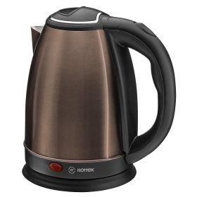 Чайник электрический из нерж.стали hottek ht-970-204 1,8л, 1800 вт шоколадный-970-204
