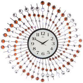 Часы настенные кварцевые диаметр=60 см (кор=6шт.)-207-331
