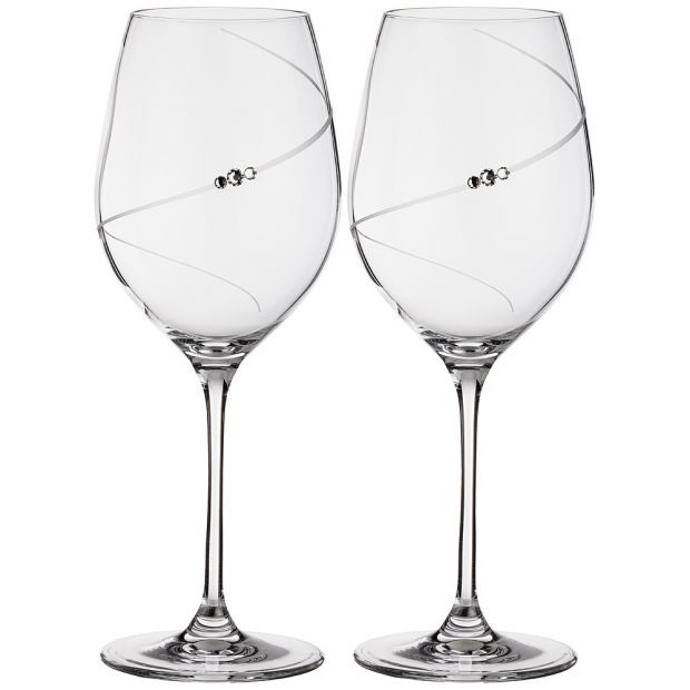 "Набор бокалов для красного вина  из 2  штук ""силуэт"" 550 мл-681-102"