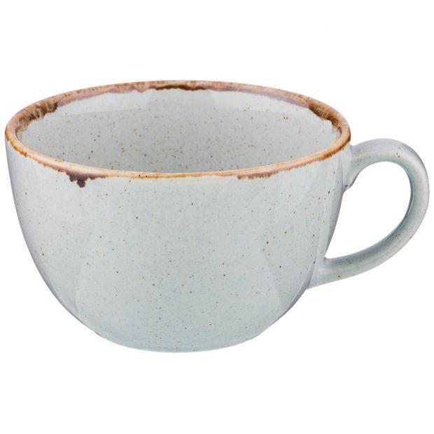 Чашка seasons 340 мл цвет серый (кор=24шт.)-664-213