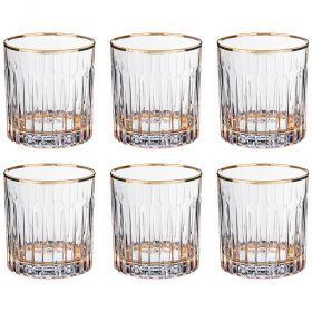 Набор стаканов из 6 шт. 300 мл. высота=9 см.-103-583