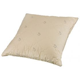 Подушка кашемир 70*70 см, верх:тик-100% хлопок, наполнитель: 100% высокосиликониз. волокно, крем-556-180