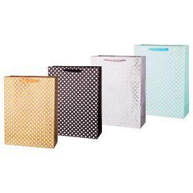Комплект бумажных пакетов из 12 шт  40*30*12 см.-512-566
