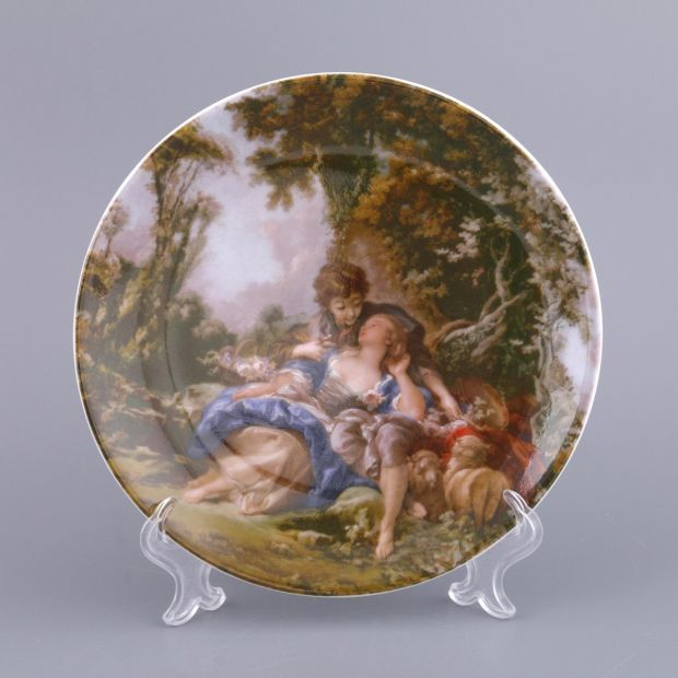 Тарелка настенная диаметр 19 см. (кор=1шт.)-662-579