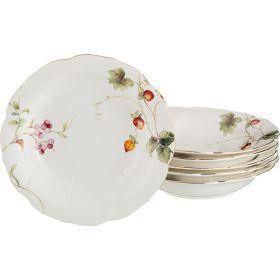 Набор из 6-ти тарелок суповых